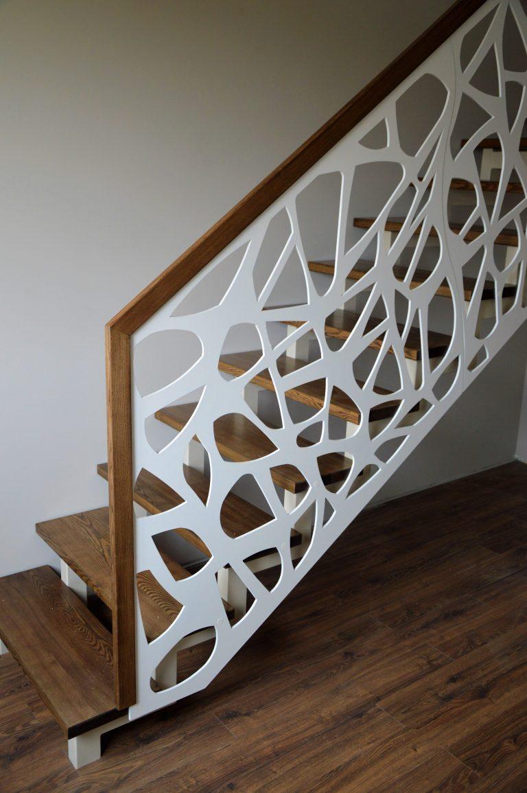 Metalinės konstrukcijos laiptai M21