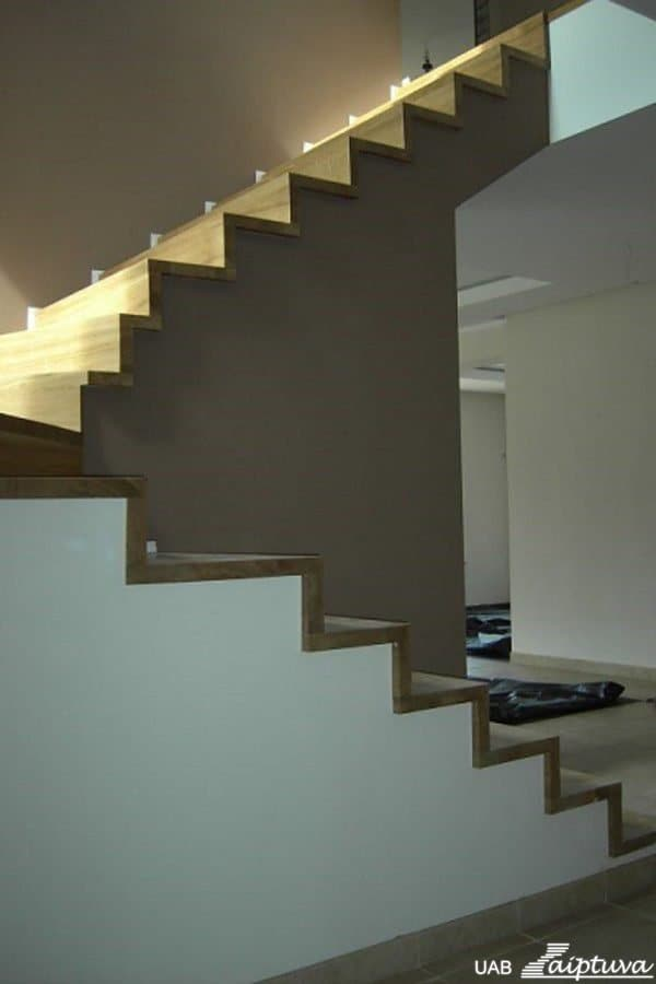 Concrete construction staircase B2