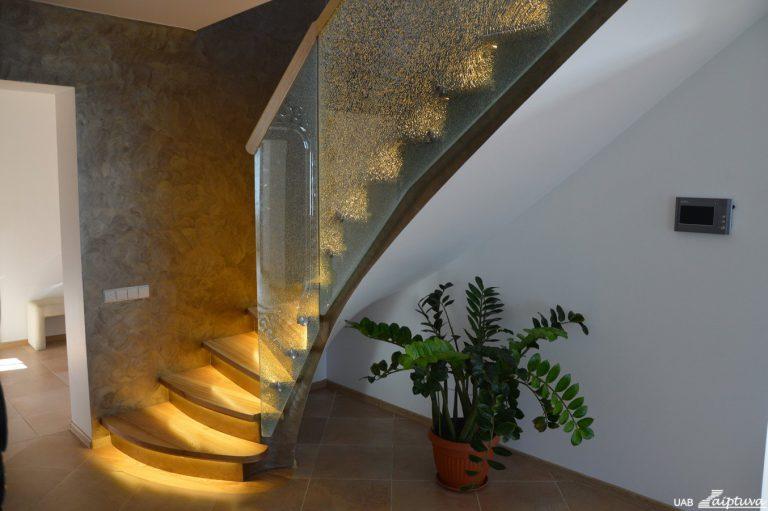Concrete construction staircase B5