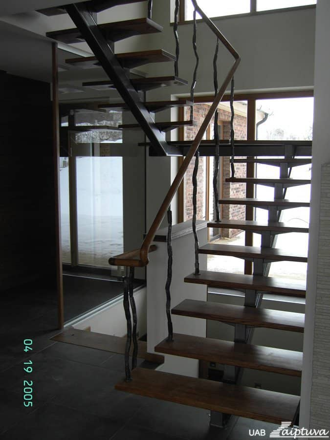 Metal construction staircase M14