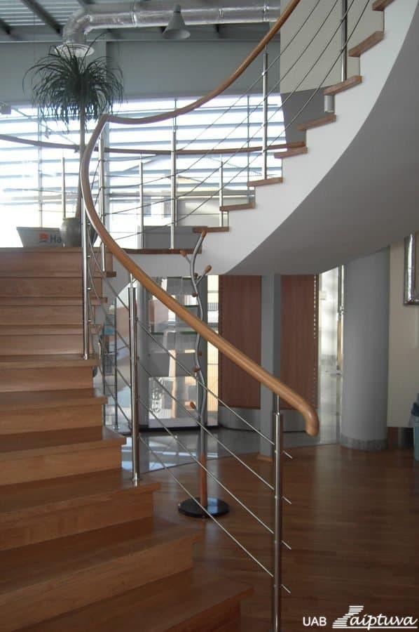 Betoninės konstrukcijos laiptai B1