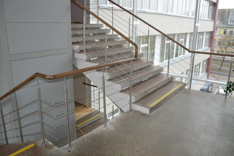 Betoninės konstrukcijos laiptai B15