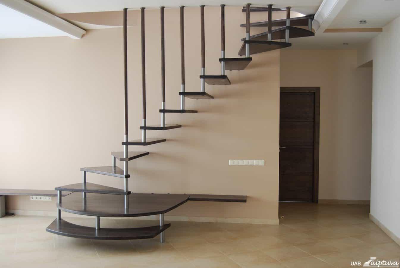 Kabantys laiptai K1-2