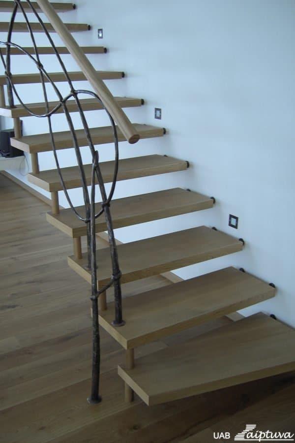 Kabantys laiptai K3