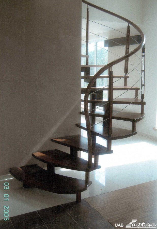 Metal construction staircase M13