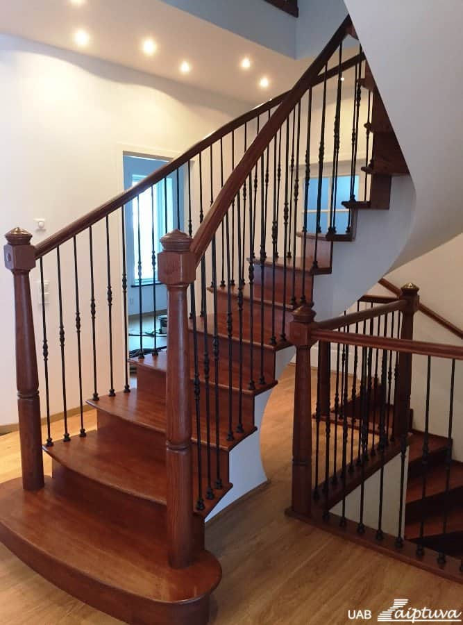 Metal construction staircase M2