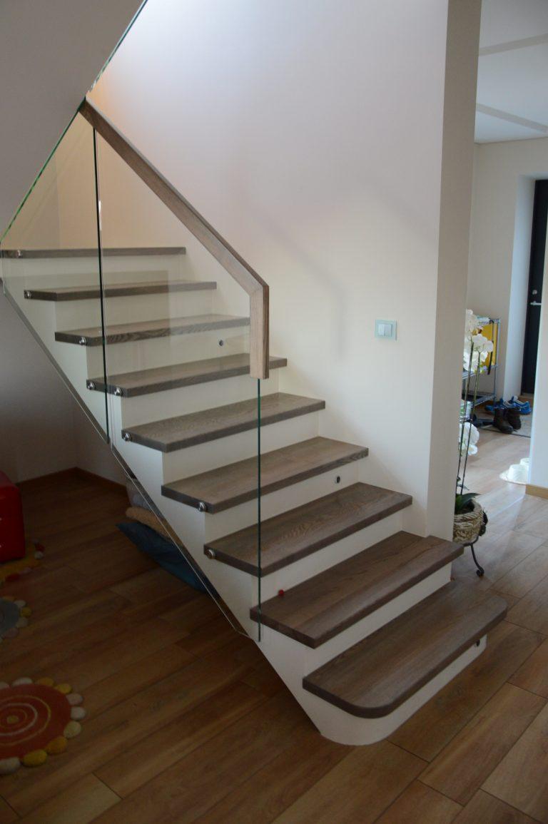 Concrete construction staircase B11