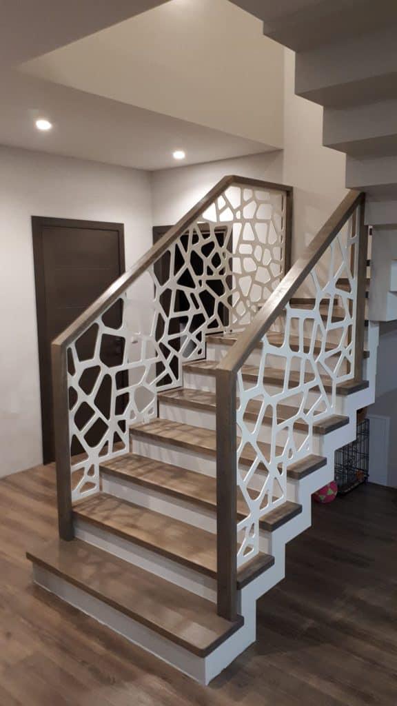 Betoninės konstrukcijos laiptai B13