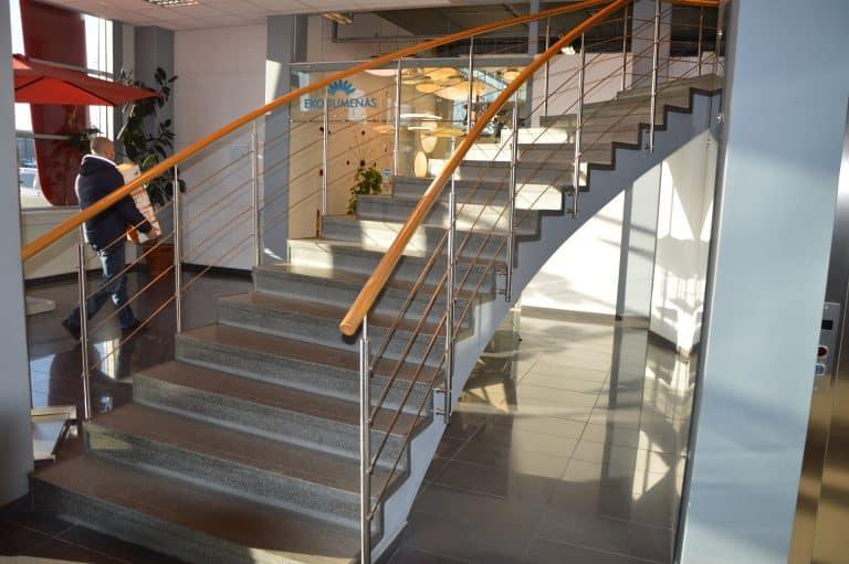 Betoninės konstrukcijos laiptai B14